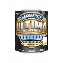 Hammerite Ultima - Matt Black - 750ml