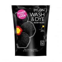 Dylon Wash & Dye - Velvet Black - 400g