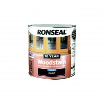 Ronseal 10 Year Woodstain - Walnut (Satin) 250ml