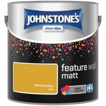 Johnstone's Feature Wall Matt Paint - Warming Rays - 2.5L