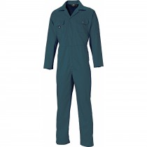 Dickies Redhawk Economy Stud Front Overall (WD4819) Lincoln Green - L