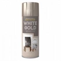Rust-Oleum (Metallic) Spray Paint - White Gold - 400ml