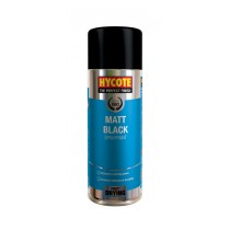 Hycote HYCXUK027 Matt Black Aerosol - 400ml