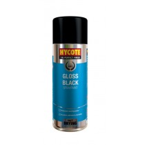 Hycote HYCXUK0272 Gloss Black Aerosol - 400ml