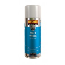 Hycote HYCXUK1000 Matt White Paint Aerosol - 400ml