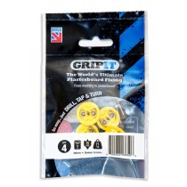 GripIt Plasterboard Fixing Yellow - 15mm - Pack of 4