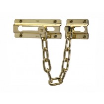 Yale P1037 Door Chain - Brass Finish