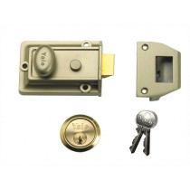 Yale P77 Traditional Nightlatch - 60mm Backset