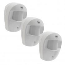 Yale Security (EF-3PIR) Easy Fit PIR Motion Detector - Pack of 3
