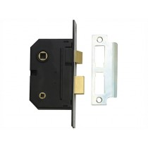 "Yale PM236 Bathroom 2 Lever Sash Lock - Polished Chrome - 67mm (2.5"")"