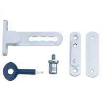Yale P117 Ventilation Window Lock - White Finish