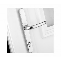 Yale PVCu Universal Replacement Handle - Chrome Finish - 92/Adjustable Fixing Points