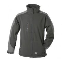Zephyr ZC201 Softshell Work Jacket - Large - Black