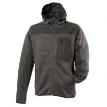 Zephyr ZC401 Knitted Hoodie Work Top - Extra Large - Black
