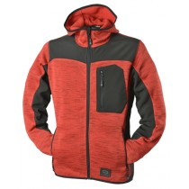 Zephyr ZC402 Knitted Hoodie Work Top - Extra Large - Red
