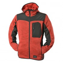 Zephyr ZC402 Knitted Hoodie Work Top - Large - Red