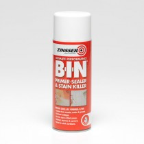 Zinsser - B-I-N Primer Sealer & Stain Killer Aerosol - 400ml