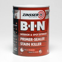 Zinsser BIN Primer & Sealer & Stain Killer - White 2.5L