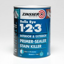 Zinsser Bulls Eye 123 Primer Sealer & Stain Killer - 1L