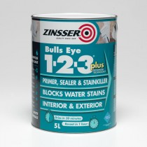 Zinsser Bulls Eye 123 PLUS - White 1L
