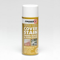 Zinsser - Cover Stain Aerosol - White 400ml
