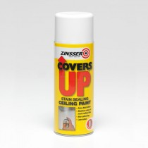 Zinsser - Covers Up Aerosol - White 400ml