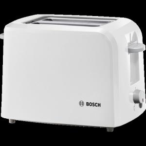 Bosch (TAT3A011GB) Toaster Village White - 2 Slice