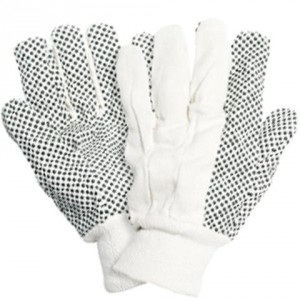 Briers B0117 Cotton Drill with PVS Dots Gloves (L)