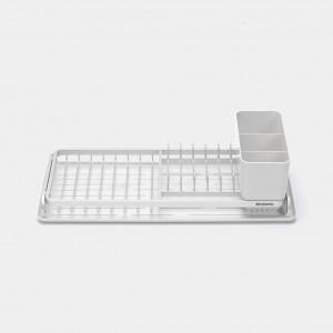 Brabantia (117282) Compact Dish Drying Rack - Light Grey
