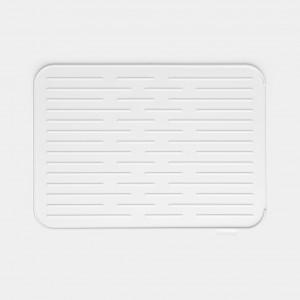 Brabantia (117466) Silicone Dish Drying Mat - Light Grey