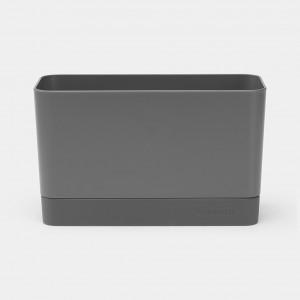 Brabantia (117503) Sink Organizer - Dark Grey