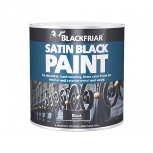 Blackfriar Satin Black Paint - 125ml