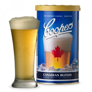Coopers Canadian Blonde Beer Making Kit - 1.7 Kg - 40 Pints