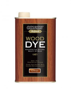 Colron Refined Wood Dye Deep Mahogany - 250ml