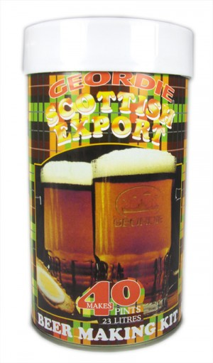 Geordie Scottish Export Beer Making Kit - 40 Pints